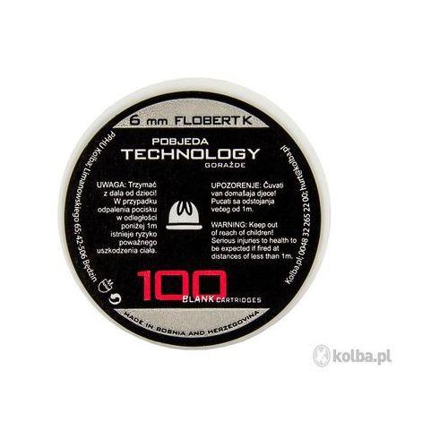Amunicja hukowa ptg 6 mm short flobert k 100 szt. marki Ptg - pobjeda technology