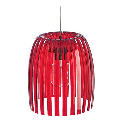 JOSEPHINE - Lampa wisząca M Czerwony Przezroczysty