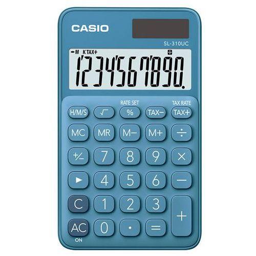 Casio Kalkulator sl-310uc-bu niebieki (4549526700095)
