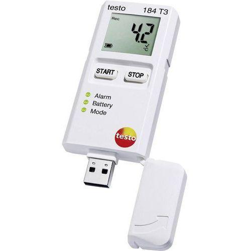 Testo Rejestrator temperatury  184 t3 0572 1843 kalibracja fabryczna (bez certyfikatu) (4029547012983)