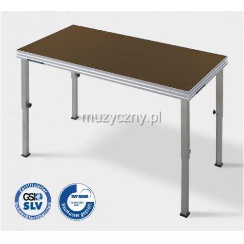 Alu Stage SCA01 podest aluminiowy 2m x 1m (bez nóg)