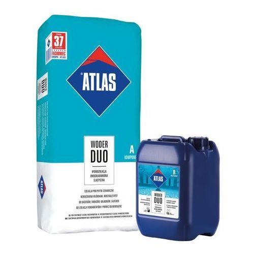 Hydroizolacja dwuskładnikowa woder duo 32 kg marki Atlas