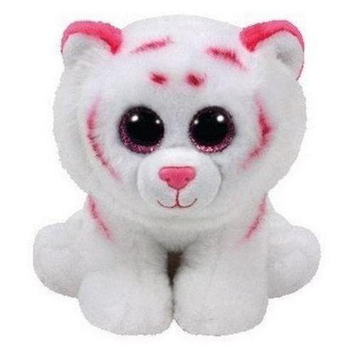 Ty inc Maskotka beanie babies (42186) tabor - różowo-biały tygrys 15cm (0008421421862)