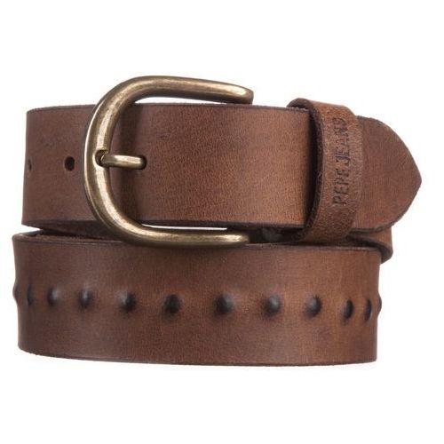 Pepe jeans  laiz belt brązowy 90 cm (8434341934113)