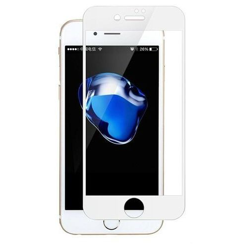 Benks Szkło hartowane kr+ pro 0.2mm iphone 8/7 white (6948005935436)