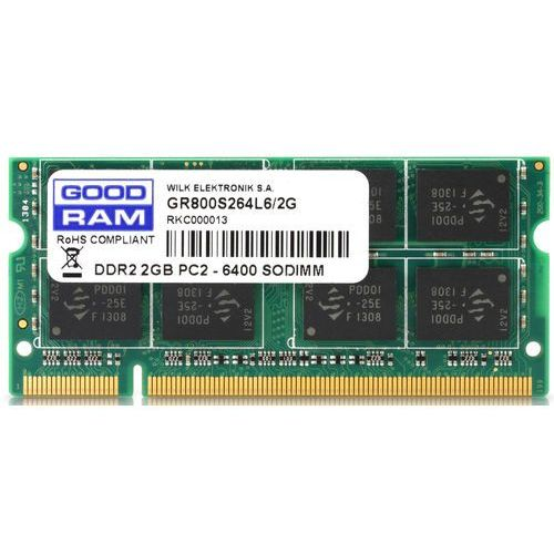 GOODRAM SO-DIMM DDR2 2048MB PC800 CL6 (5908267902165)