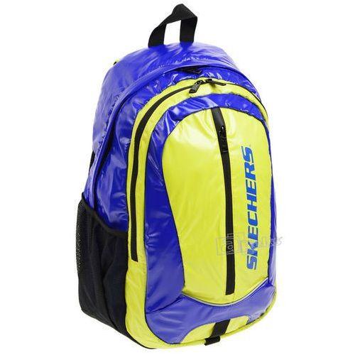 Skechers Olimpia plecak miejski - niebieski / żółty