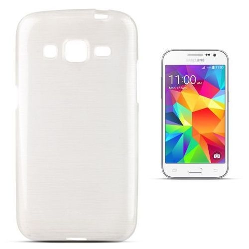 """Forcell """"jelly brush samsung galaxy core prime"""" (white) (5901737289957)"""