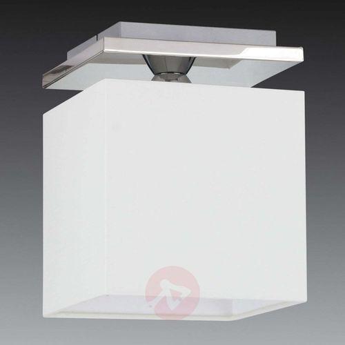 Spot-light Elegancka lampa sufitowa rivoli z kloszem z chintz (5901602372029)