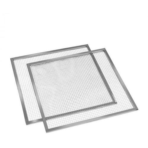 Klarstein pro master jerky, sita/tace wyposażenie zamienniki, 2 sztuki, 67x67 cm, stal (4060656110566)