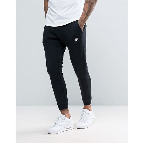 Nike cuffed club jogger in black 804408-010 - black