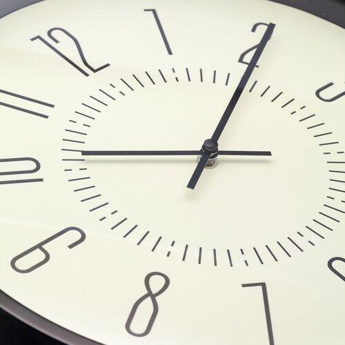Zegar ścienny fluorescencyjny 35 cm luminous biały (3261 wi) marki Nextime