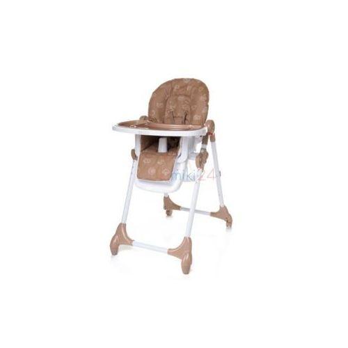 4Baby Krzesełko do karmienia DECCO brązowe, 764724
