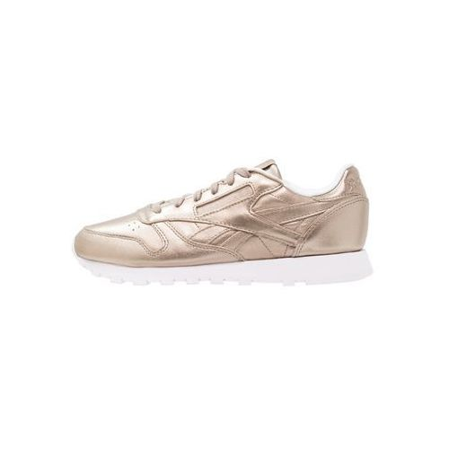 Reebok  classic classic leather tenisówki i trampki pearl metallic/grey gold/white
