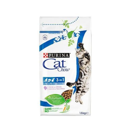 (bez zařazení) Purina cat chow 3in1 - 15kg (7613034155139)