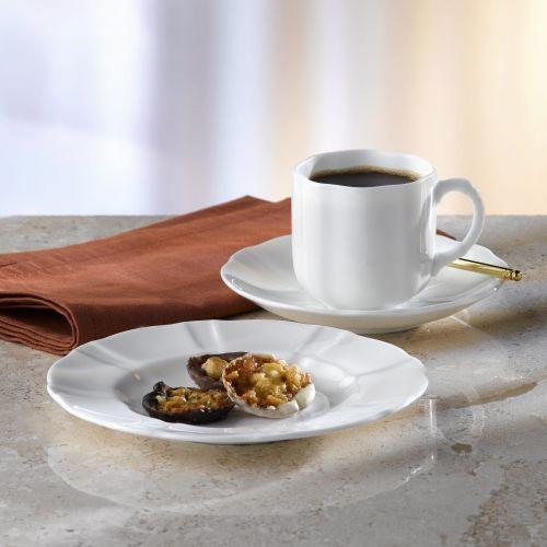 Royal crown derby surrey white serwis do kawy dla 6 osób