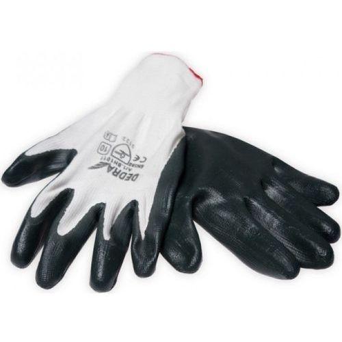 Dedra Rękawice robocze bh1011 biało-czarny (rozmiar 10) (5902628210265)