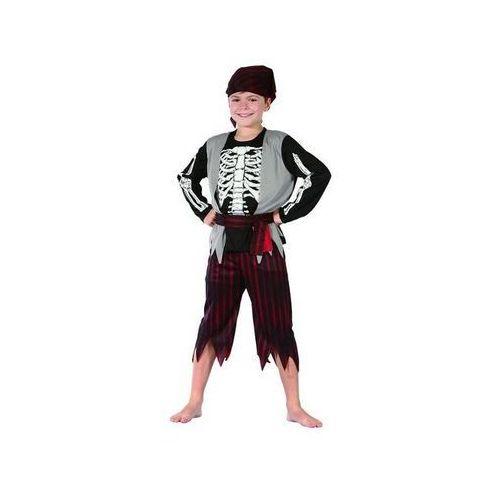 Strój pirat szkieletor rozmiar 110/120 cm marki Godan