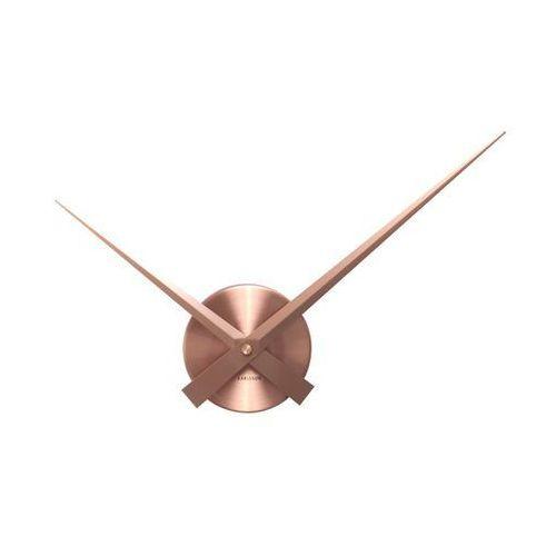 Karlsson Zegar ścienny little big time mini alu copper by