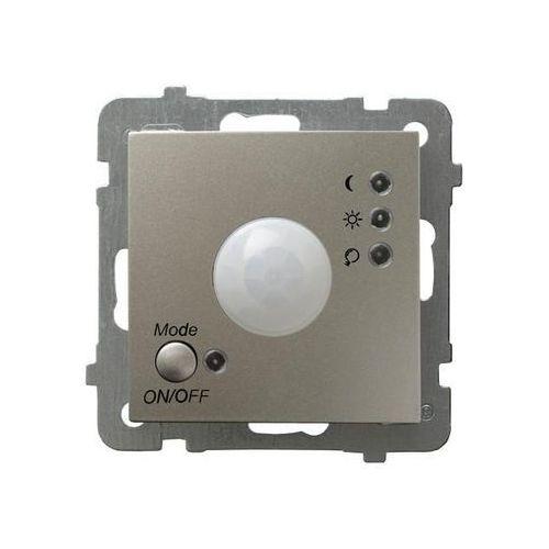 Ospel as łp-16g/m/45 elektroniczny czujnik ruchu satyna light (5907577475420)