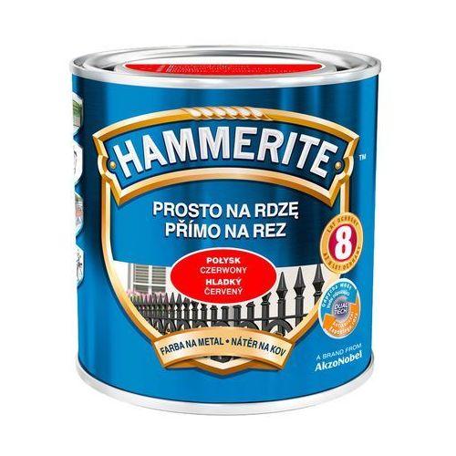 Prosto Na Rdzę - Efekt Połysk Czerwony 0,7L Hammerite, kolor czerwony