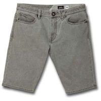 Szorty - solver denim short daze grey (dzg) rozmiar: 36 marki Volcom