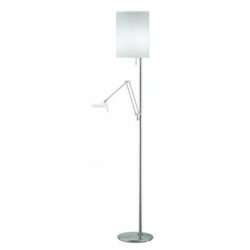 Knapstein Lampa podłogowa Nikiel matowy, 3-punktowe - Nowoczesny - Obszar wewnętrzny - Knapstein - Czas dostawy: od 2-3 tygodni