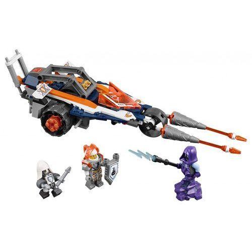 LEGO NEXO KNIGHTS, Bojowy pojazd Lance'a, 70348. Najniższe ceny, najlepsze promocje w sklepach, opinie.
