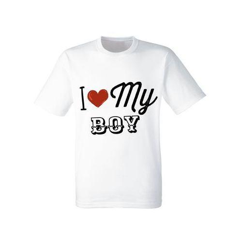 Koszulka Żony Dziewczyny Prezent Love My Boy - DKB010