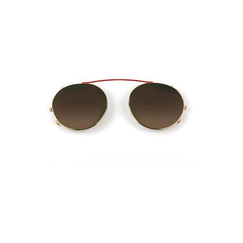 Okulary Słoneczne Etnia Barcelona Jordaan Clip-On GDRD, kolor żółty