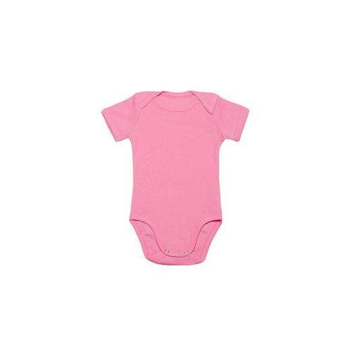 Body dziecięce (bez nadruku, gładkie) - różowe