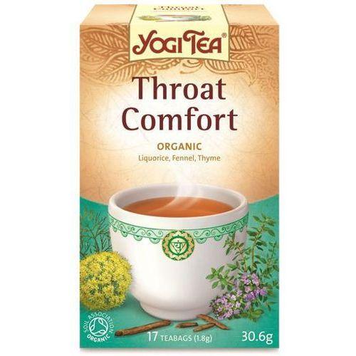 Herbata na gardło bio (yogi tea) 17 saszetek po 1,8g od producenta Yogi tea, usa