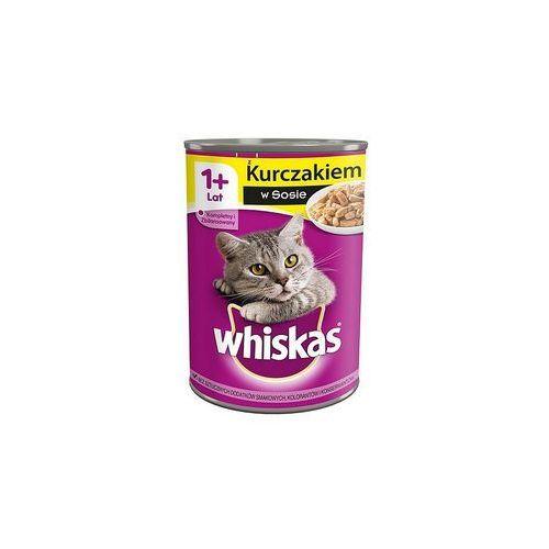 Whiskas  adult kurczak - puszka 24x400g