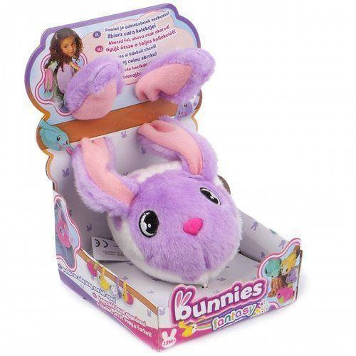 Tm toys Bunnies króliczek fantasy fioletowo-biały (8421134096554)