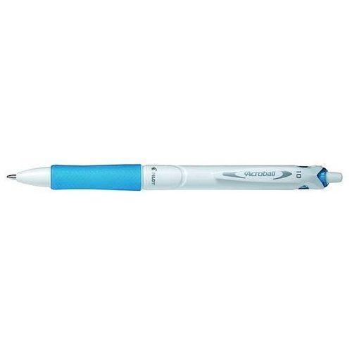 Długopis Acroball White M lazurowy PILOT