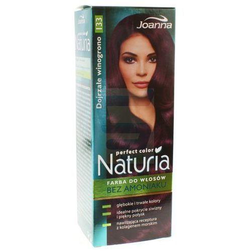naturia perfect color farba do włosów bez amoniaku dojrzałe winogrono nr 133 marki Joanna