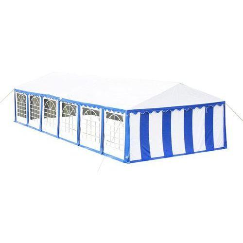 Vidaxl namiot imprezowy 12 x 6 m, niebieski (8718475820468)