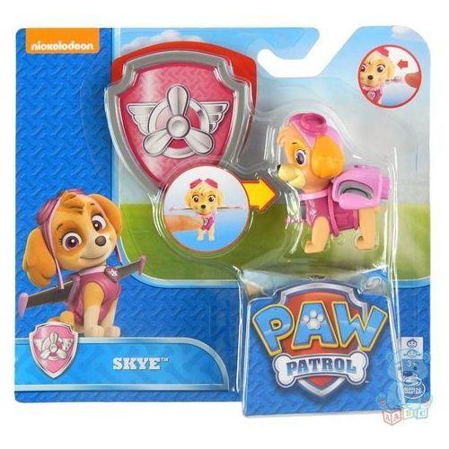 Psi patrol figurka z odznaką skye marki Spin master