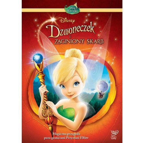 Dzwoneczek i zaginiony skarb (DVD) - Klay Hall (7321917503174)