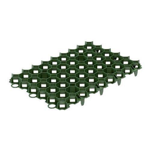 Kratka trawnikowa plastikowa 60 x 40 cm zielona marki Blooma
