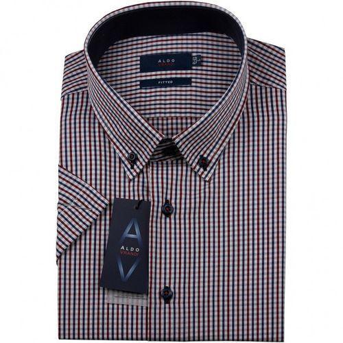 Koszula męska Aldo Vrandi z krótkim rękawem, Akr15-31