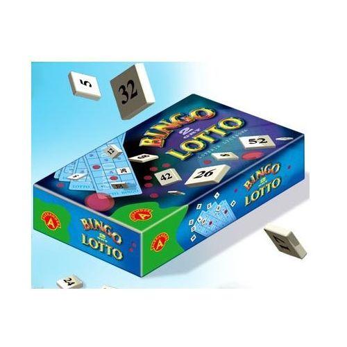 Bingo. Lotto. 2 gry - Zakupy powyżej 60zł dostarczamy gratis, szczegóły w sklepie (gra planszowa)