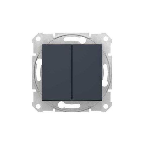 Przycisk chwilowy podwójny Sedna Schneider SDN1100170 grafit (8690495039702)