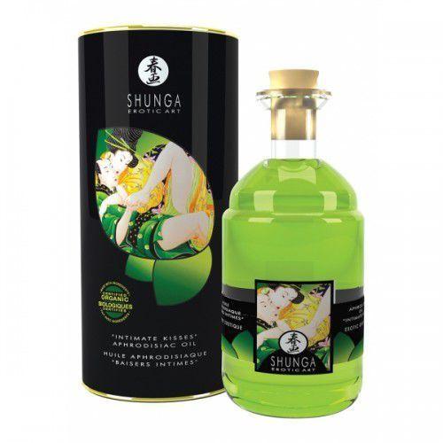Shunga - exotic green tea organic warming oil 100 ml marki Shunga (can)