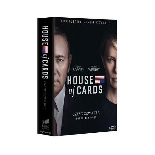 House Of Cards. Sezon 4 (DVD) - David Fincher DARMOWA DOSTAWA KIOSK RUCHU