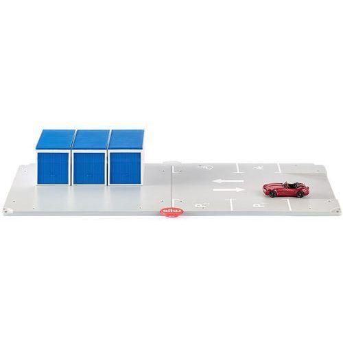 Zabawka SIKU Zestaw parking, garaże i samochód