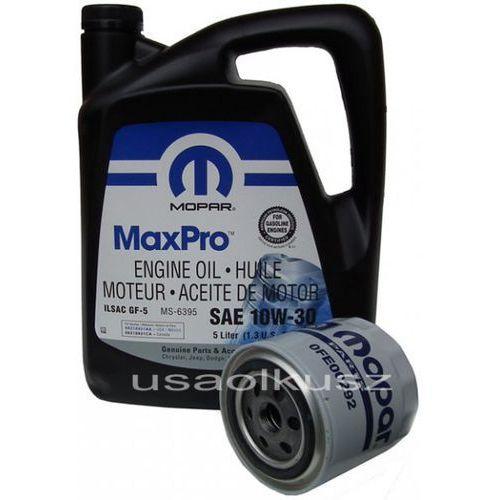 Filtr oleju + olej 10w30 chrysler sebring v6 marki Mopar