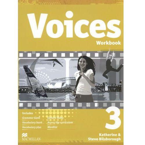 Voices. Klasa 3, gimnazjum. Język angielski. Zeszyt ćwiczeń, oprawa broszurowa