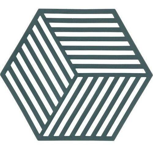 Zone denmark Podstawka pod gorące naczynia hexagon zielona (5708760641932)