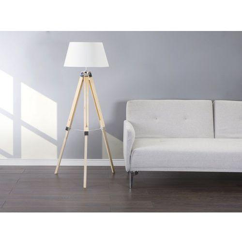 Lampa stojąca naturalny biały MADEIRA (4260580938339)